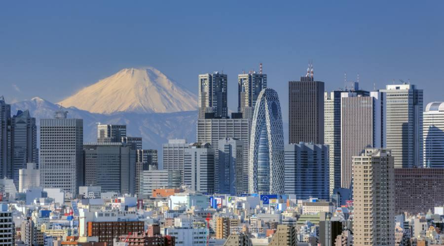 Tokyo e il Monte Fuji