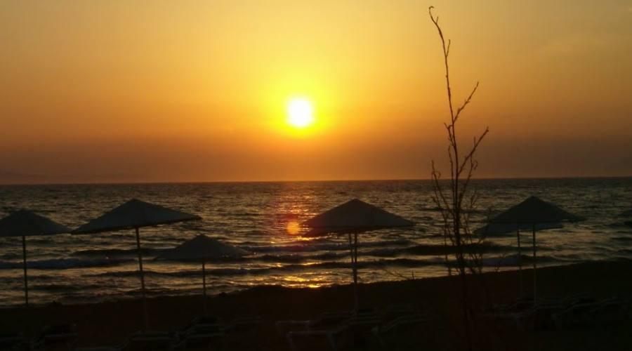 Tramonto nel Peloponneso
