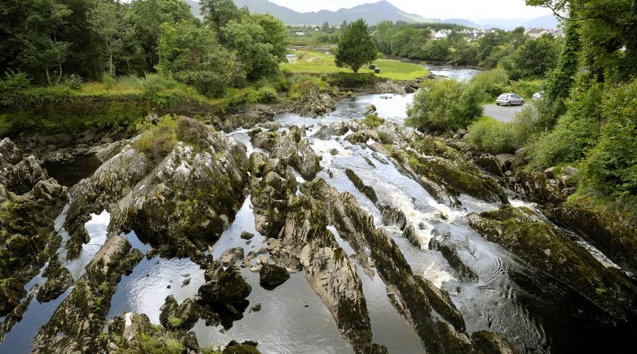 Torrente a Killorgin nel Ring of Kerry