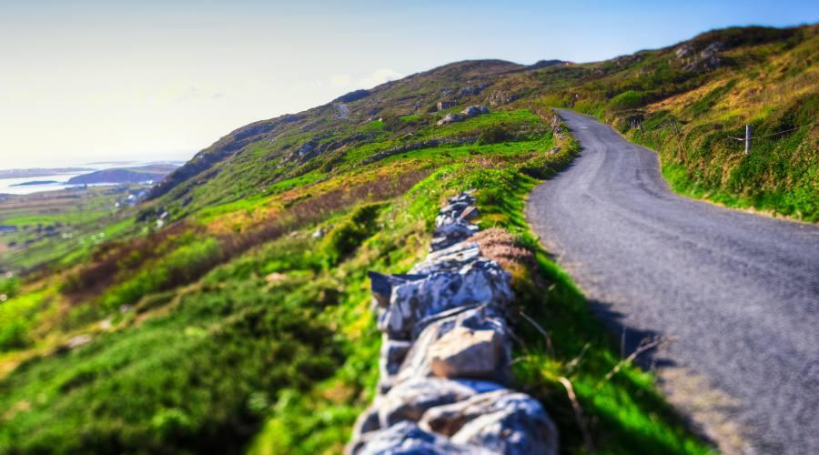 Strada nel Donegal