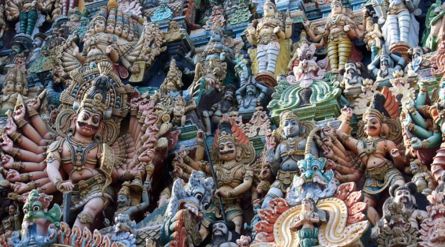Dettagli di un tempio
