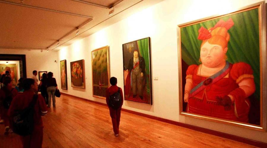 Tour tra città, natura e storia: Bogotà - Museo di Botero
