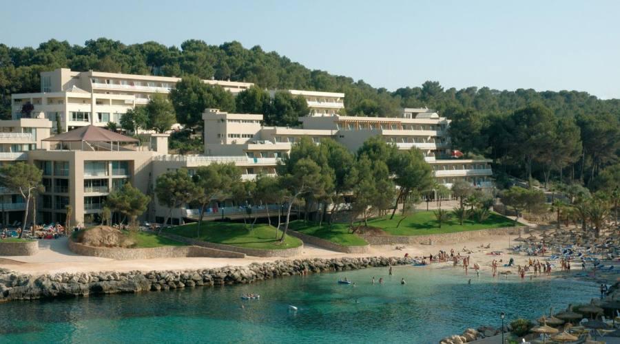 Vista panoramica dell hotel