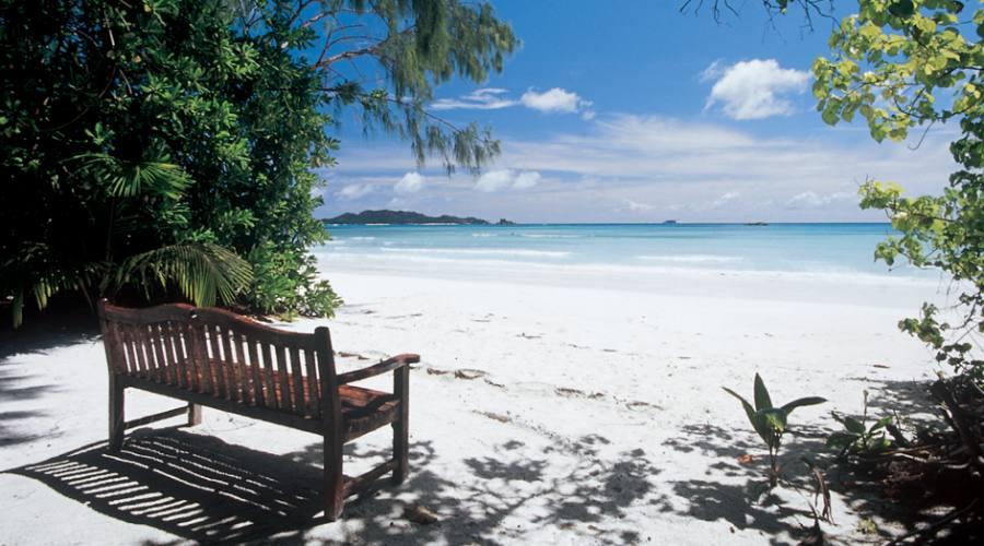 La spiaggia del complesso