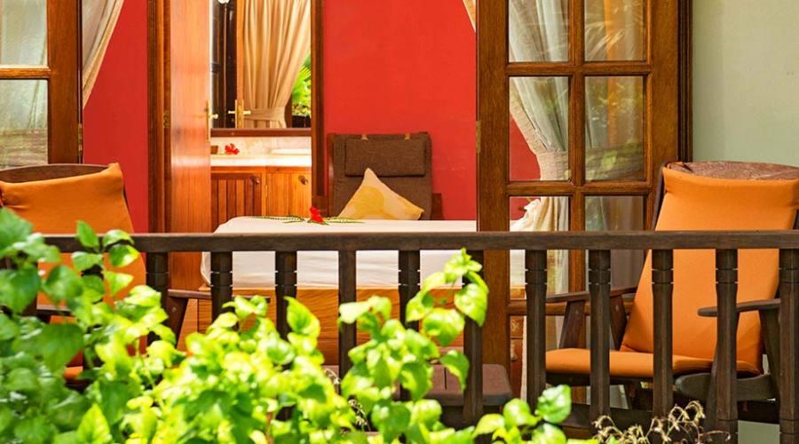 Cote d'Or Chalet terrazzo/veranda