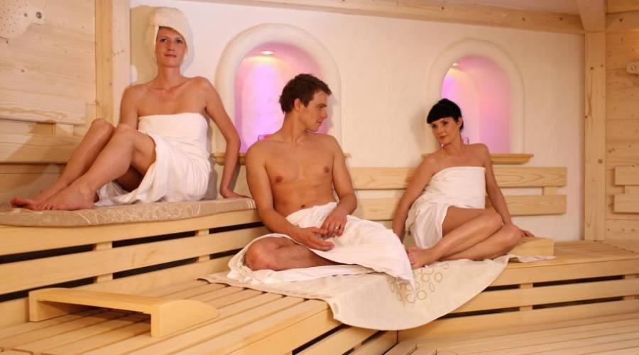 Una delle saune