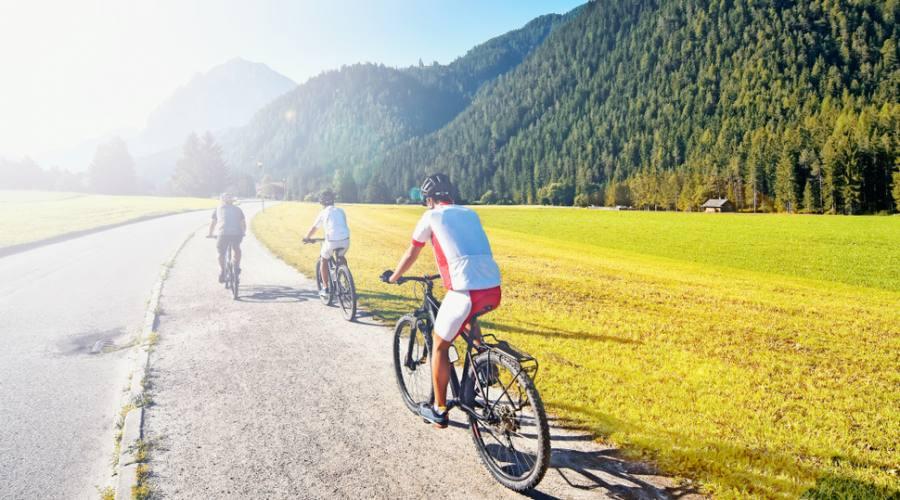 Viaggi in bici nelle Dolomiti