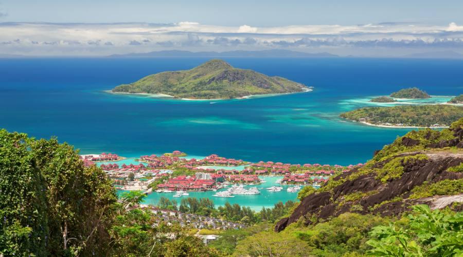 Mahè scorcio panoramico di Eden Island
