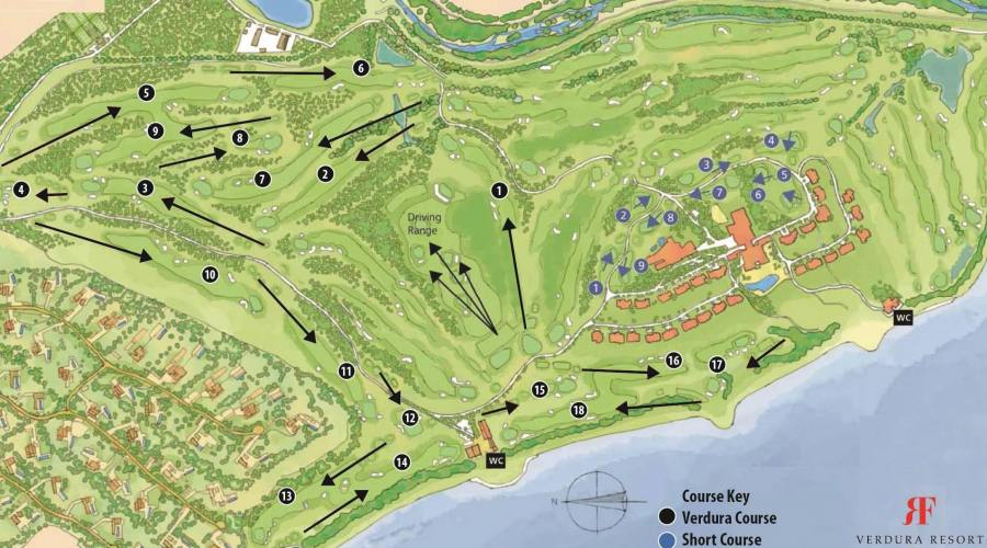 Mappa Golf