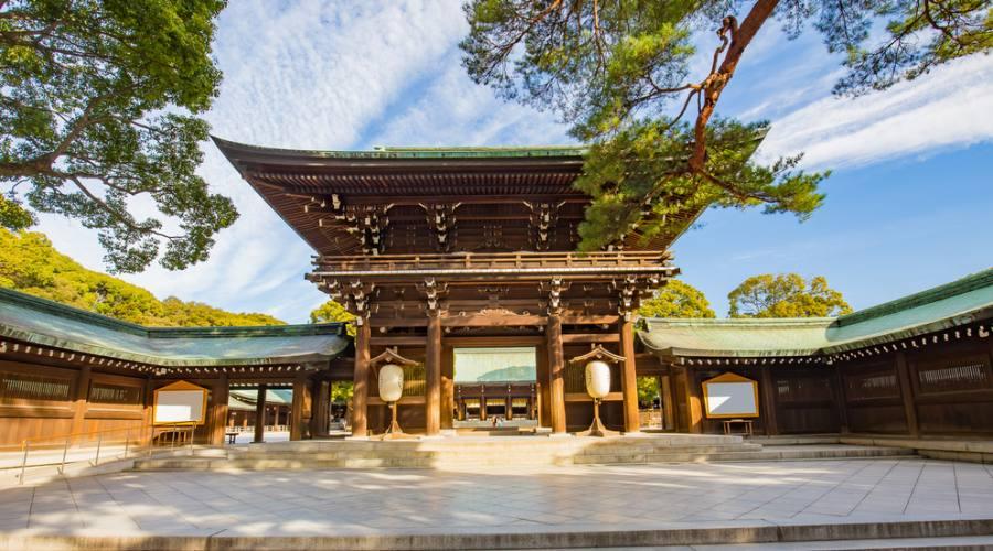 Santuario Meiji a Tokyo