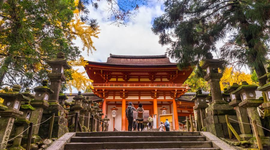 Il Santuario Kasuga Taisha a Nara