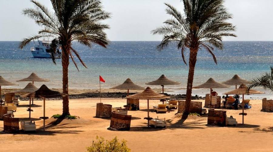 Vista panoramica della spiaggia