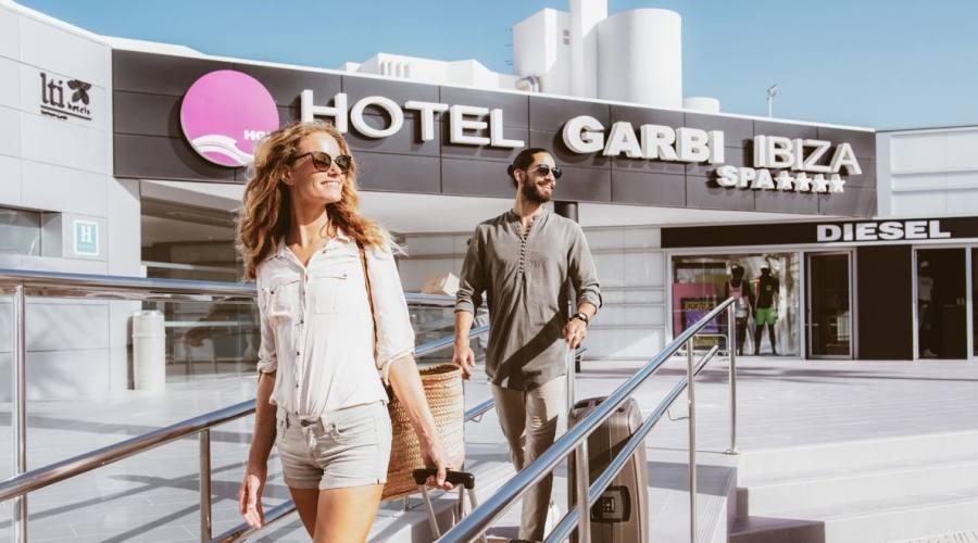 Ingresso hotel Garbi Ibiza