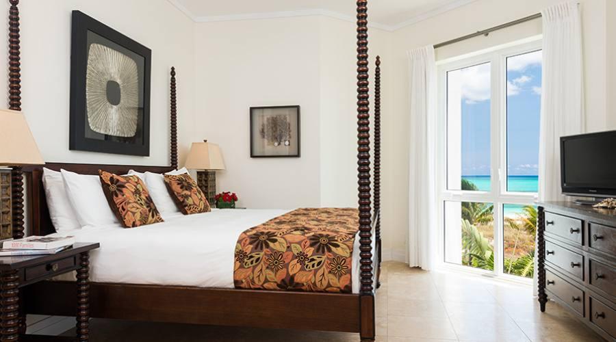 Ocean Front Luxury One Bedroom Suite Master Bedroom
