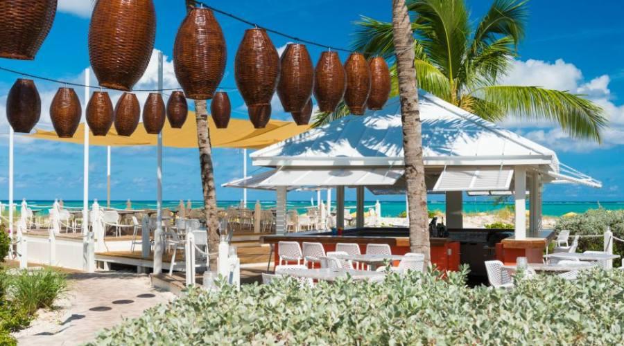 Il ristorante Asù sulla spiaggia