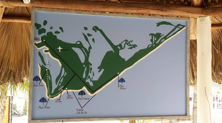 Mappa Cayo Largo