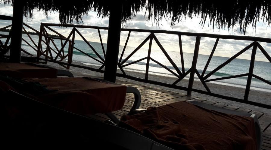 Zona relax spiaggia