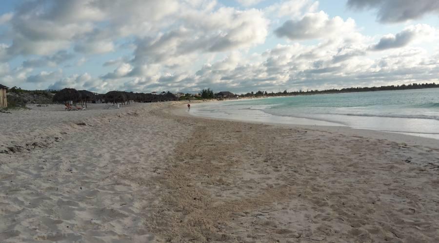 Spiaggia del villaggio. Febbraio 2017
