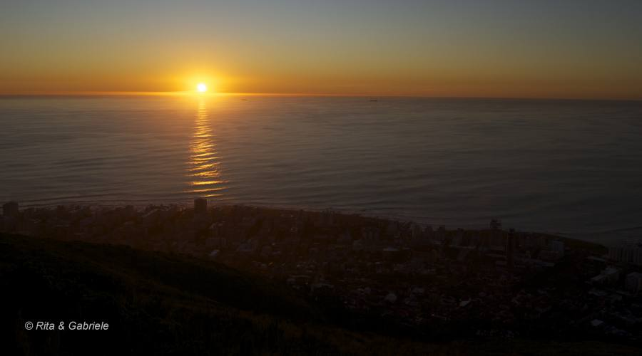 Tramonto a Cape Town