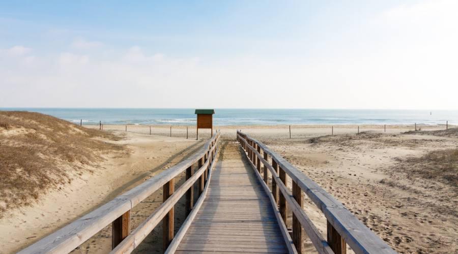 Spiaggia, Marina di Ravenna