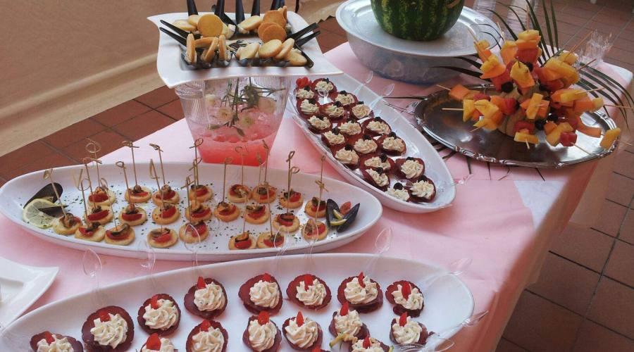 Un buffet particolare