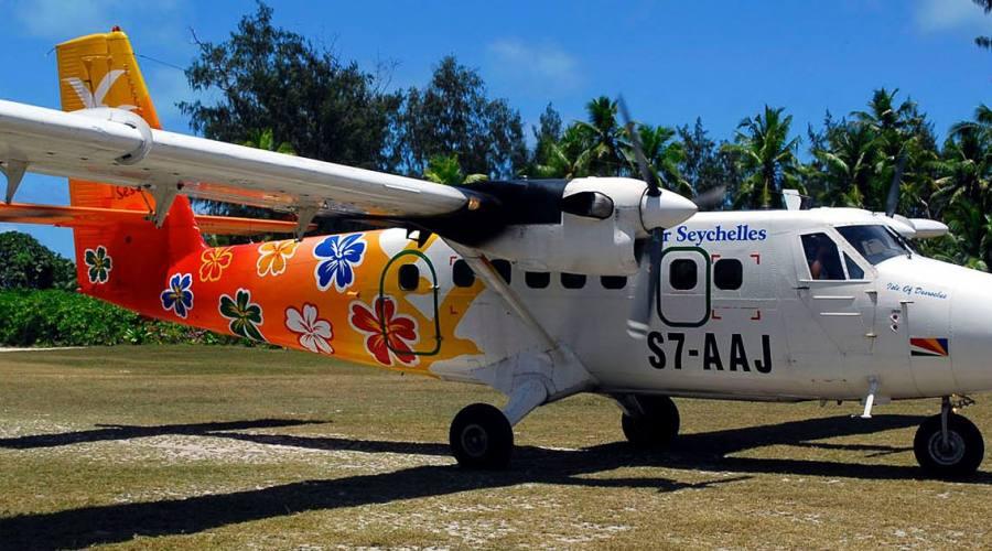 Connesione aerea sull'isola