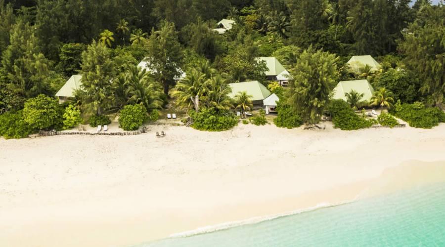 I Cottage e la spiaggia
