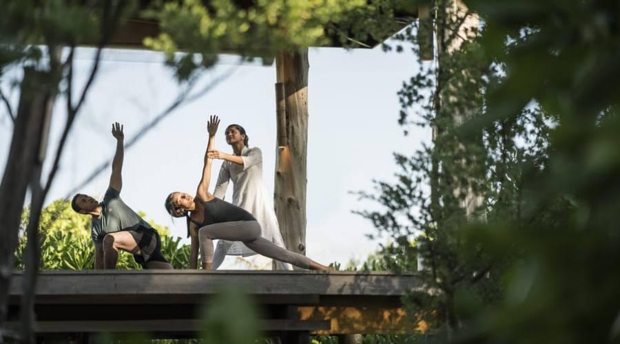 Yoga at Desroches