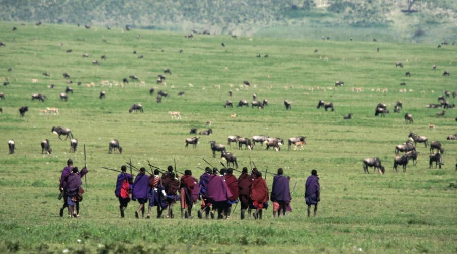 Il popolo Masai nella Riserva dello Ngorongoro