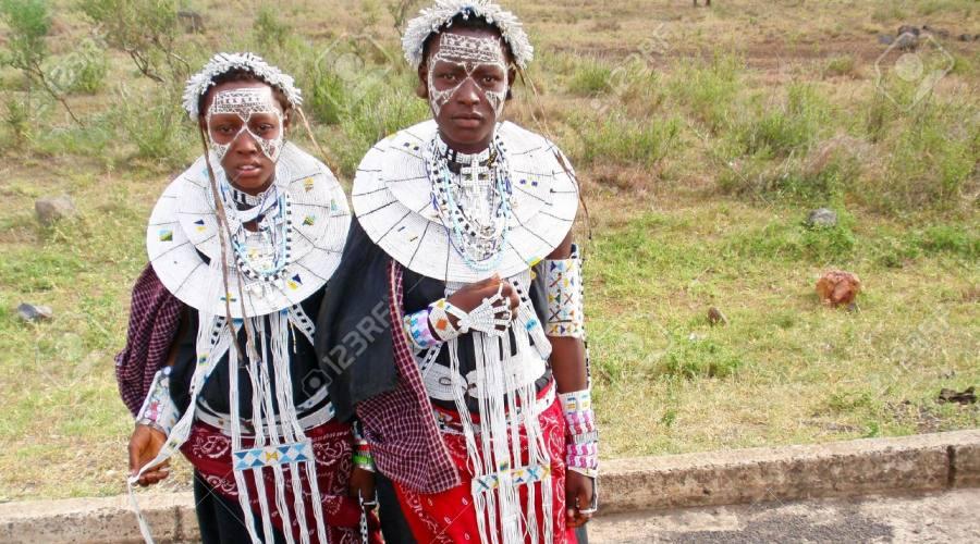 Vestiti tradizionali della Tanzania