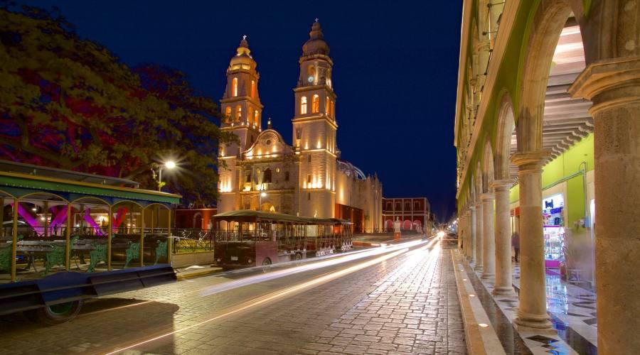 3° giorno: Campeche - Cattedrale, Yucatan