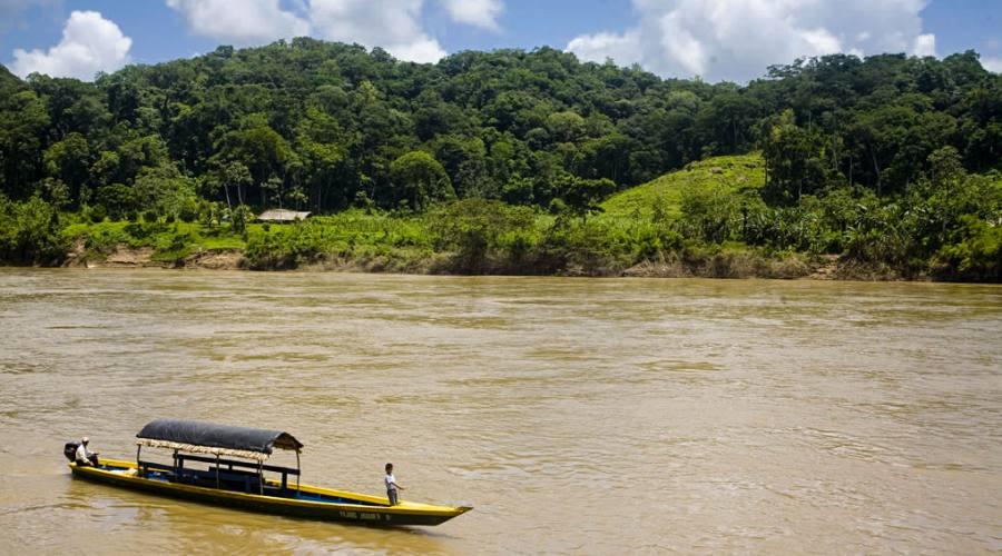 5° giorno: Corozal - Fiume Usumacinta, Guatemala
