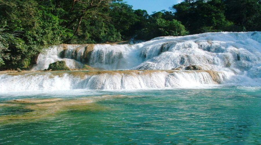 4° giorno: Cascate di Agua Azul, Chapas