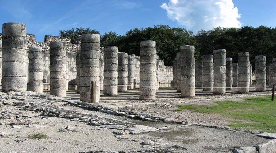 6° giorno: Chichen Itza: Sala dalle Mille Colonne, Yucatan