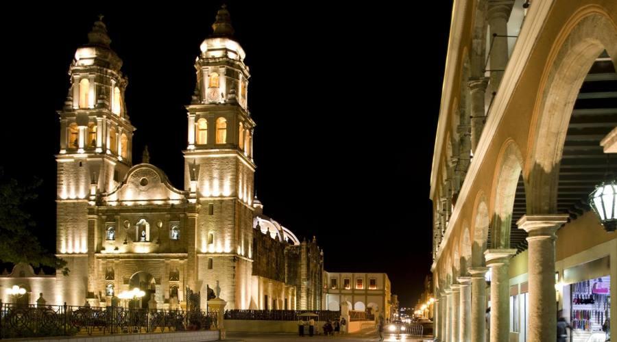 3° giorno: Cattedral di Campeche, Yucatan