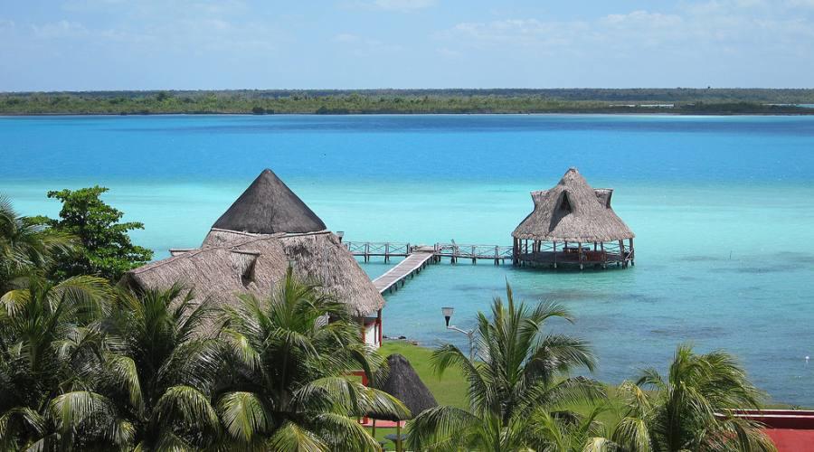 9° giorno: Bacalar Laguna dai sette colori e partenza per la Riviera Maya