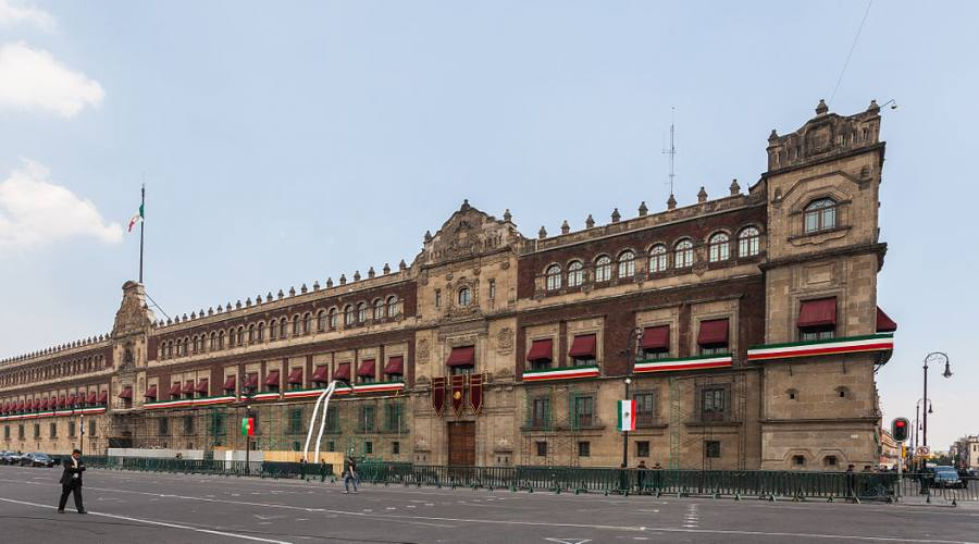 2° giorno: Palazzo Nazionale di Citta' del Messico, Chapas