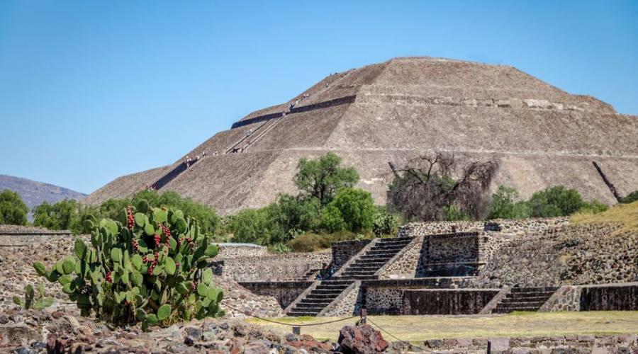 2° Giorno: Sito Archeologico di Teotihuacan, Citta' del Messico