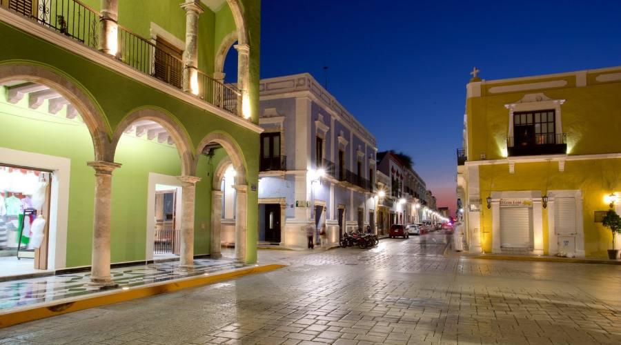 6° giorno: Campeche - Zona Storica, Chapas