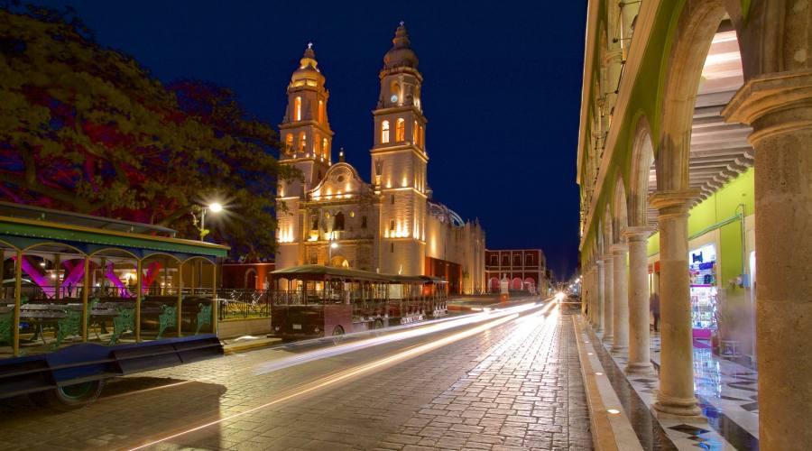 6° giorno: Campeche - Cattedrale, Chapas