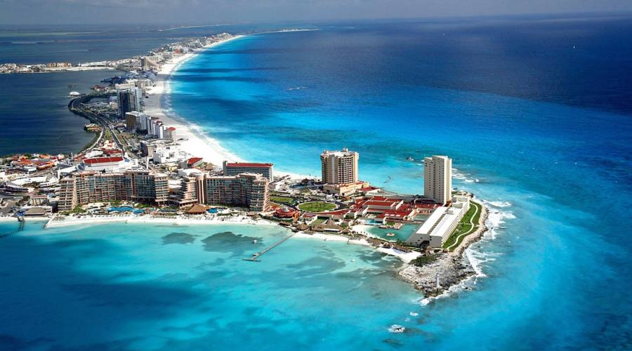 8° giorno: arrivo a Cancun o Playa del Carmen