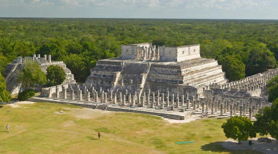 8° giorno: Chichen Itza - Tempio dei Guerrieri, Yucatan