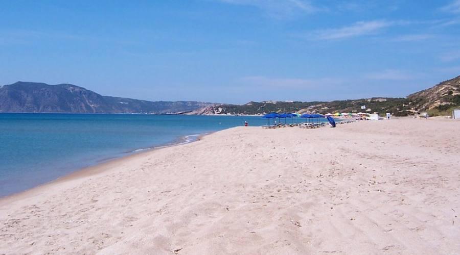 Una spiaggia di Kos