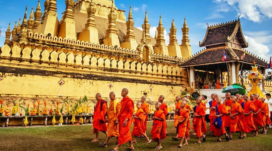 Vientiane: tempio