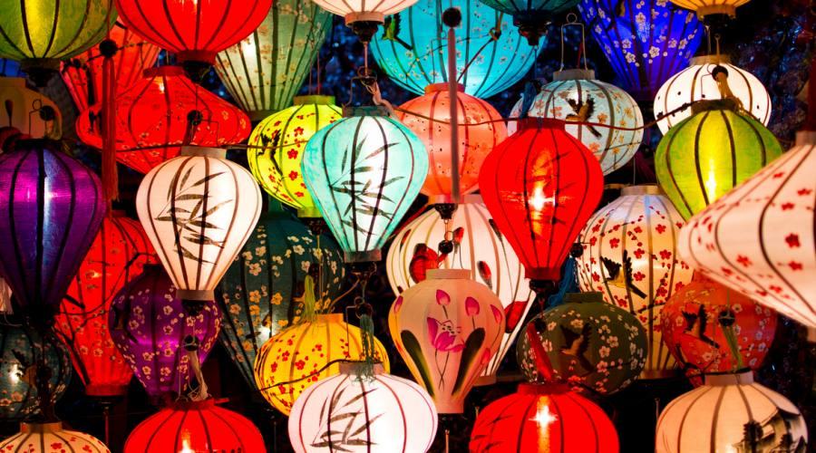 HoiAn: tipiche lanterne