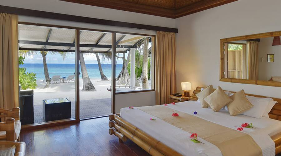 Interno superior beach bungalow