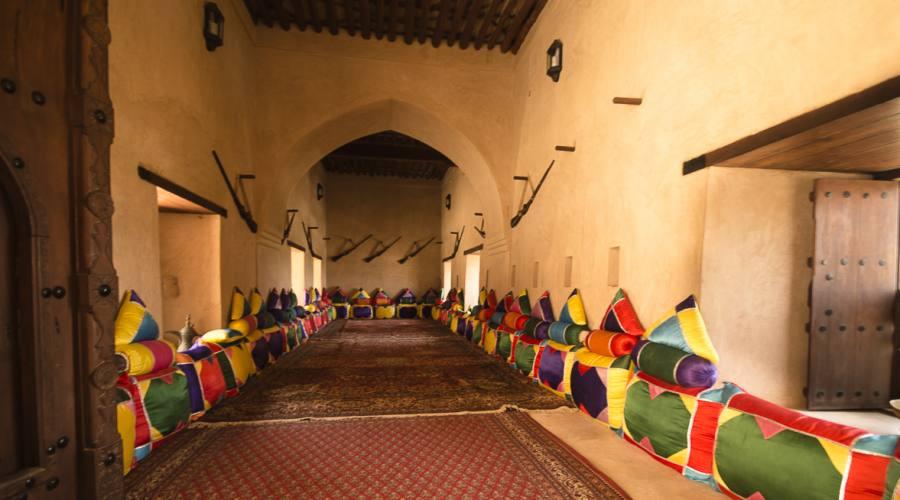 Interno del Forte di Jabreen