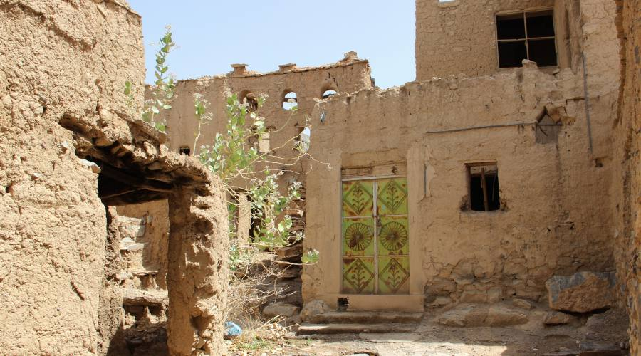 Le case di fango: Al Hamra