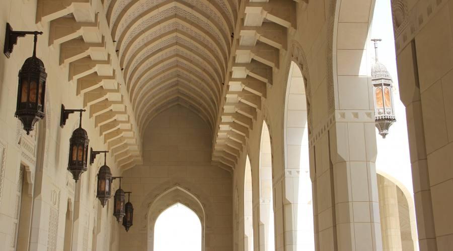 Interno della Grande Moschea: Muscat