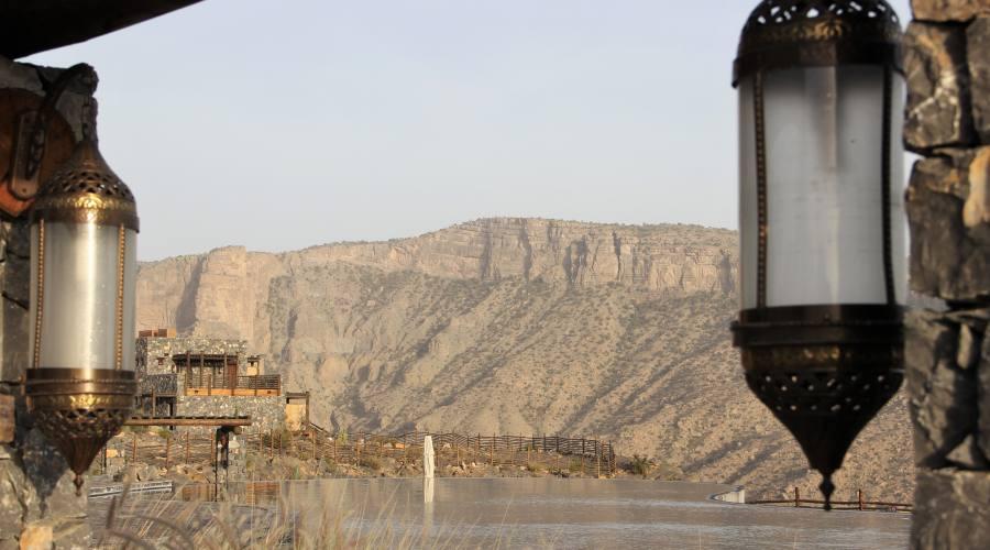 Jabal Akhdar: paesaggi di montagna